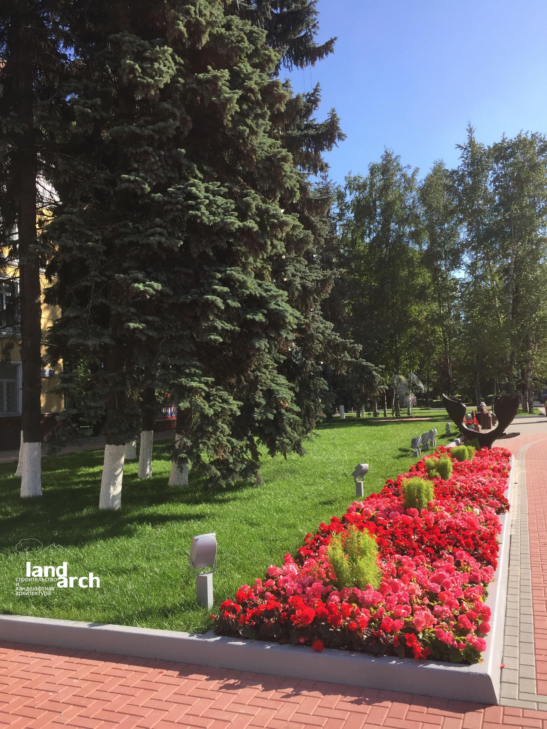 Городская площадь в Химках