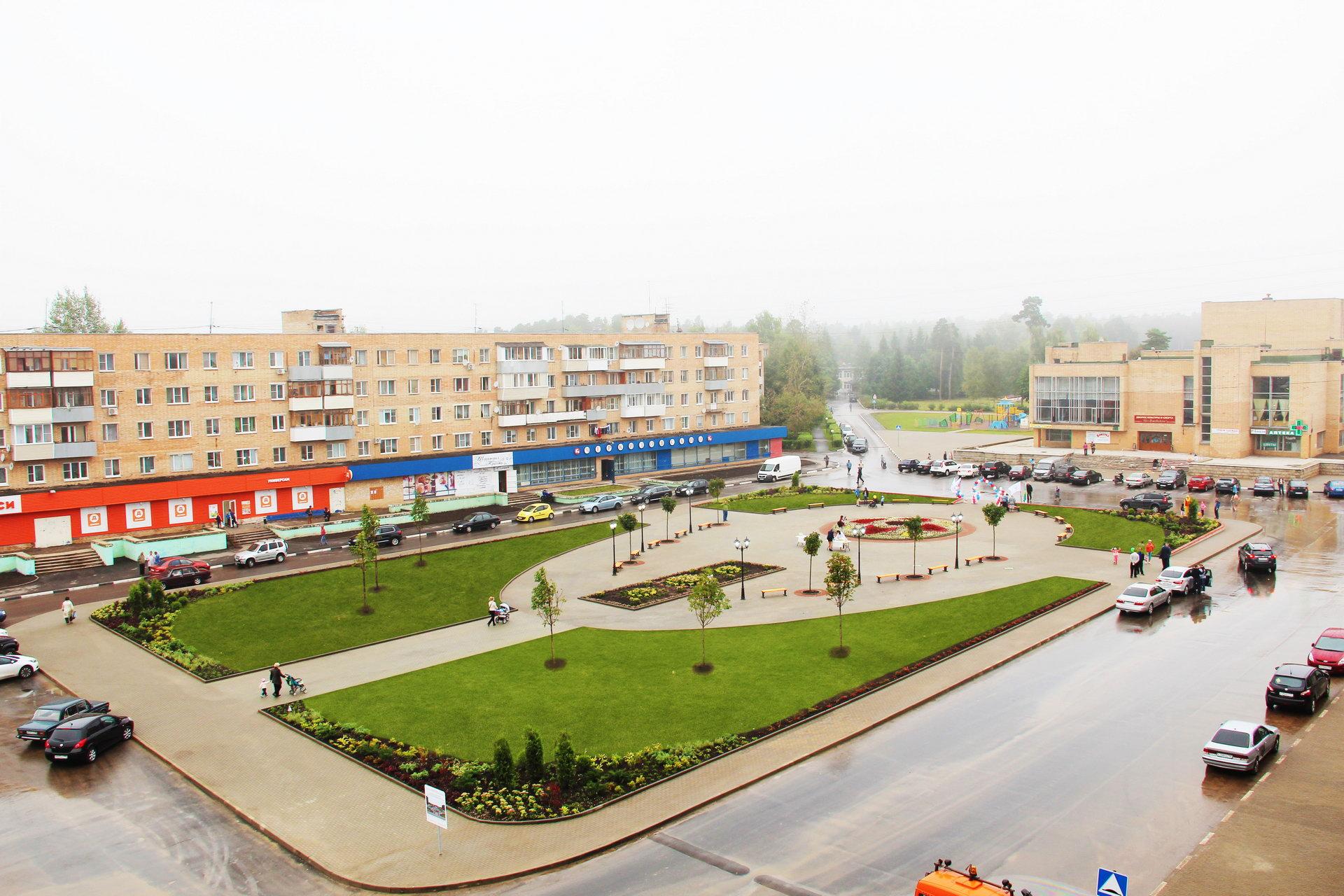 Центральная площадь в Новой Москве